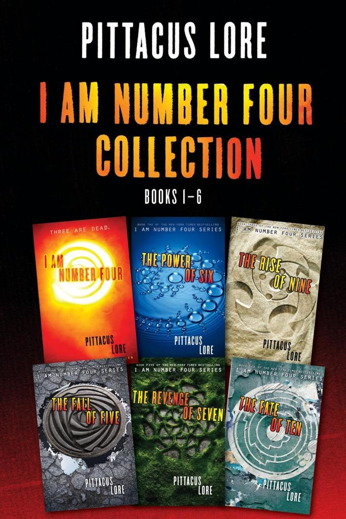 I Am Number Four Collection: Books 1-6 als eBook