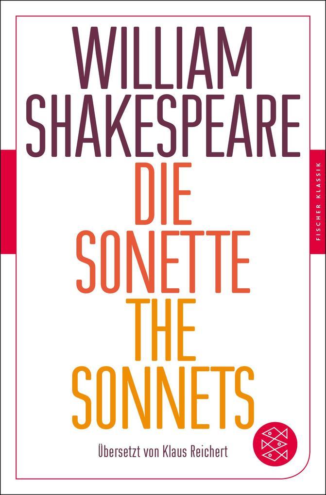 Die Sonette - The Sonnets als Taschenbuch