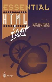 Essential HTML fast als eBook von Duncan Reed, ...