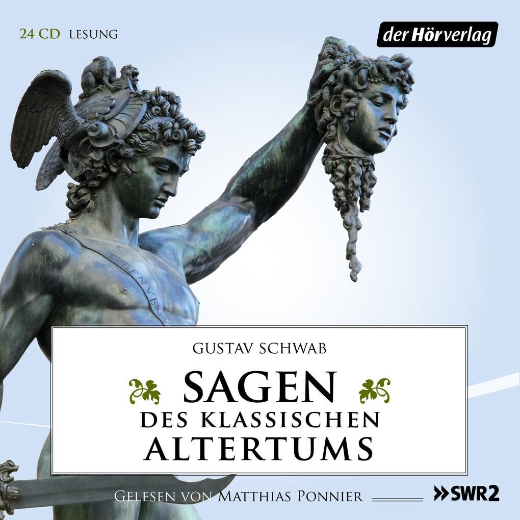 Sagen des klassischen Altertums als Hörbuch Download