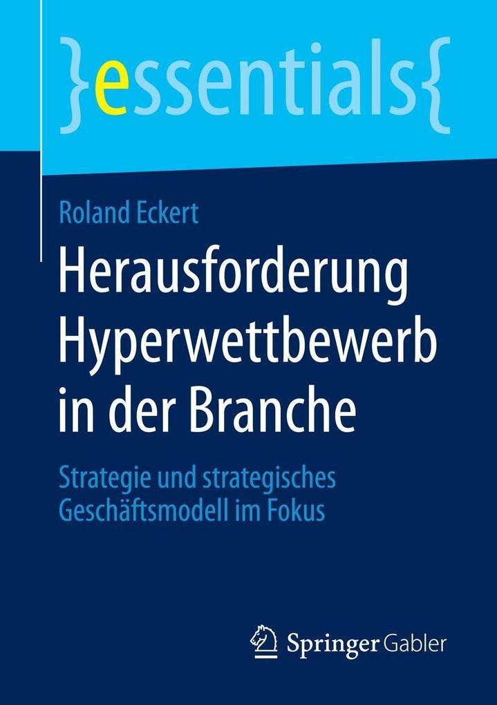 Herausforderung Hyperwettbewerb in der Branche als eBook pdf