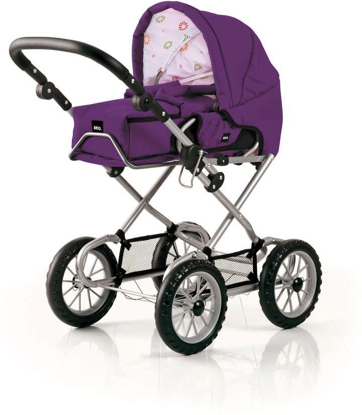 Brio Puppenwagen violett Babypuppen & Zubehör