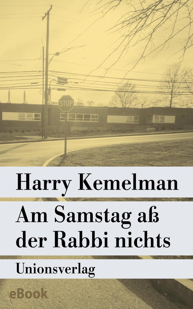 Am Samstag aß der Rabbi nichts als eBook