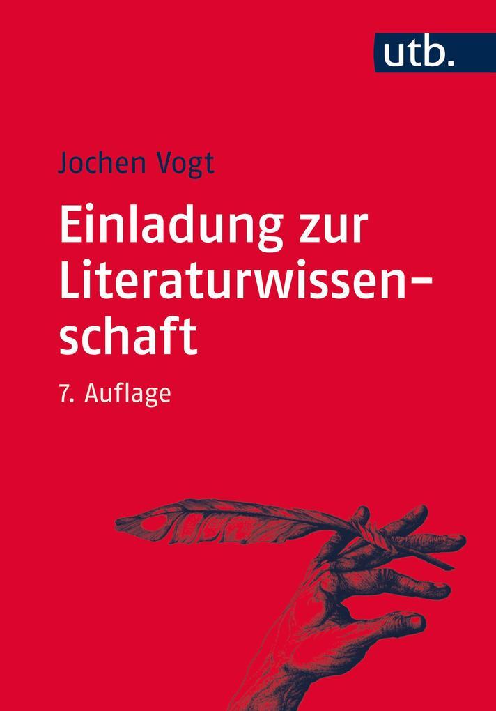Einladung zur Literaturwissenschaft als Buch von Jochen Vogt