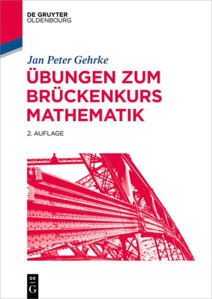 Übungen zum Brückenkurs Mathematik als Buch