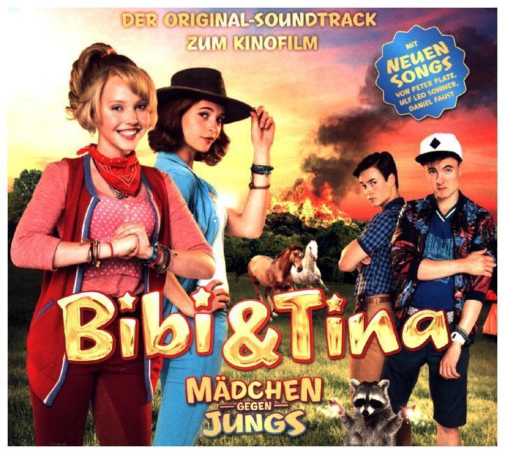 Bibi & Tina - Der Soundtrack zum 3. Kinofilm: Mädchen gegen Jungs als CD