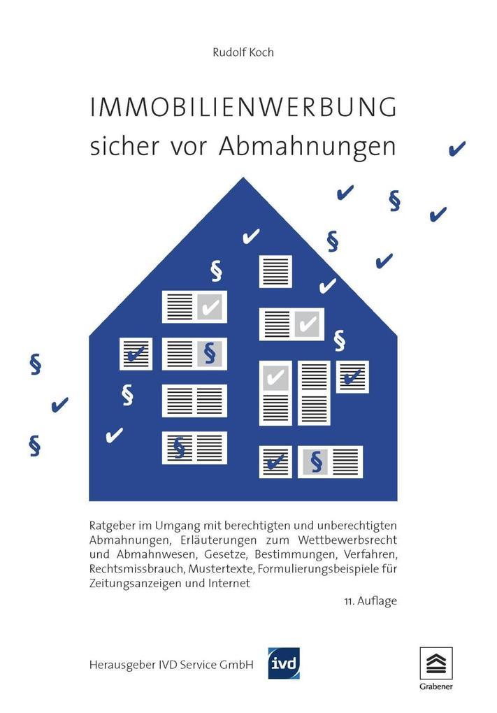 Immobilienwerbung - sicher vor Abmahnungen als eBook