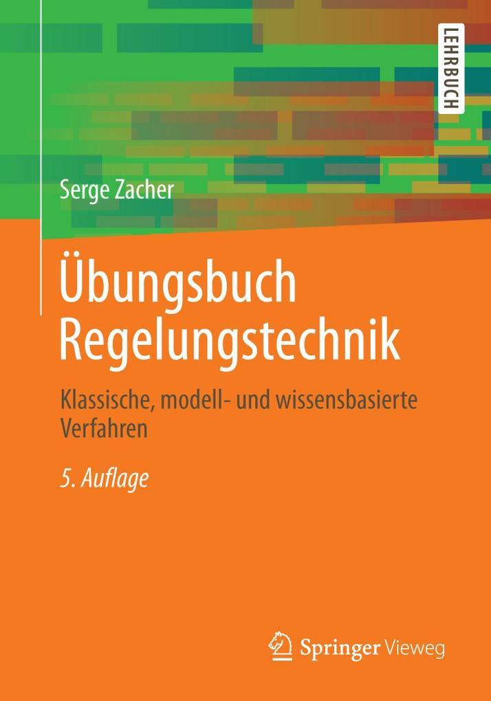 Übungsbuch Regelungstechnik als eBook