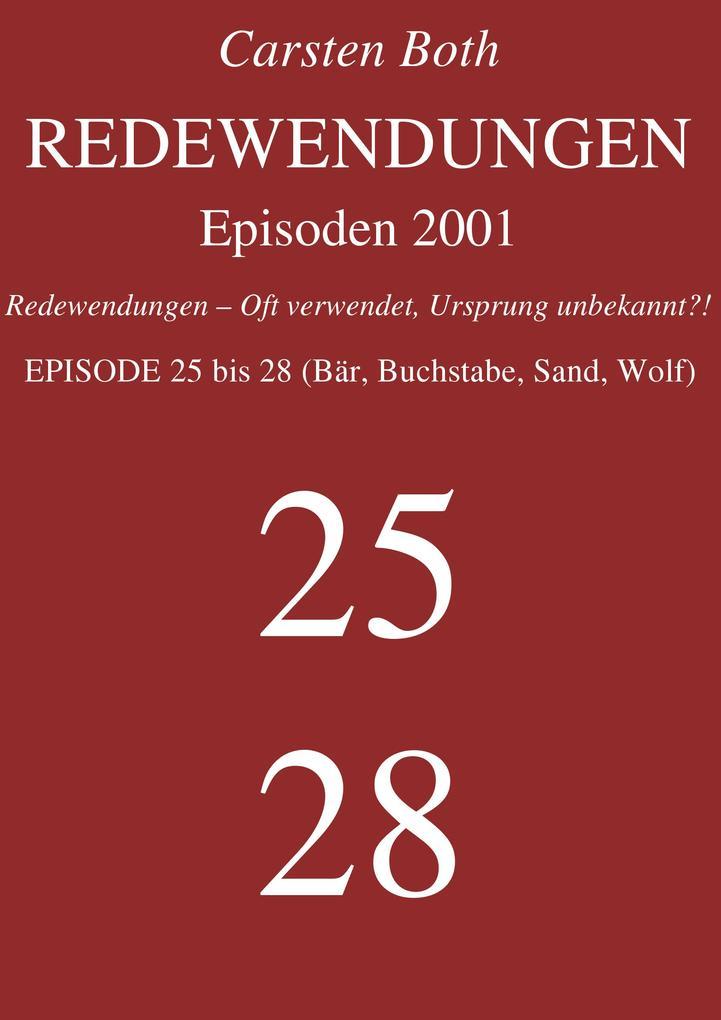 Redewendungen: Episoden 2001 als eBook epub