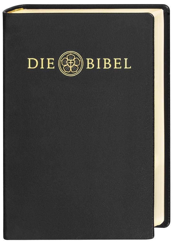 Lutherbibel revidiert 2017 - Die Lederausgabe als Buch
