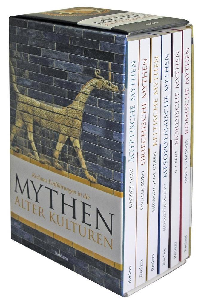 Reclams Einführungen in die Mythologe alter Kulturen. 6 Taschenbücher in Kassette als Taschenbuch von George Hart, Lucil