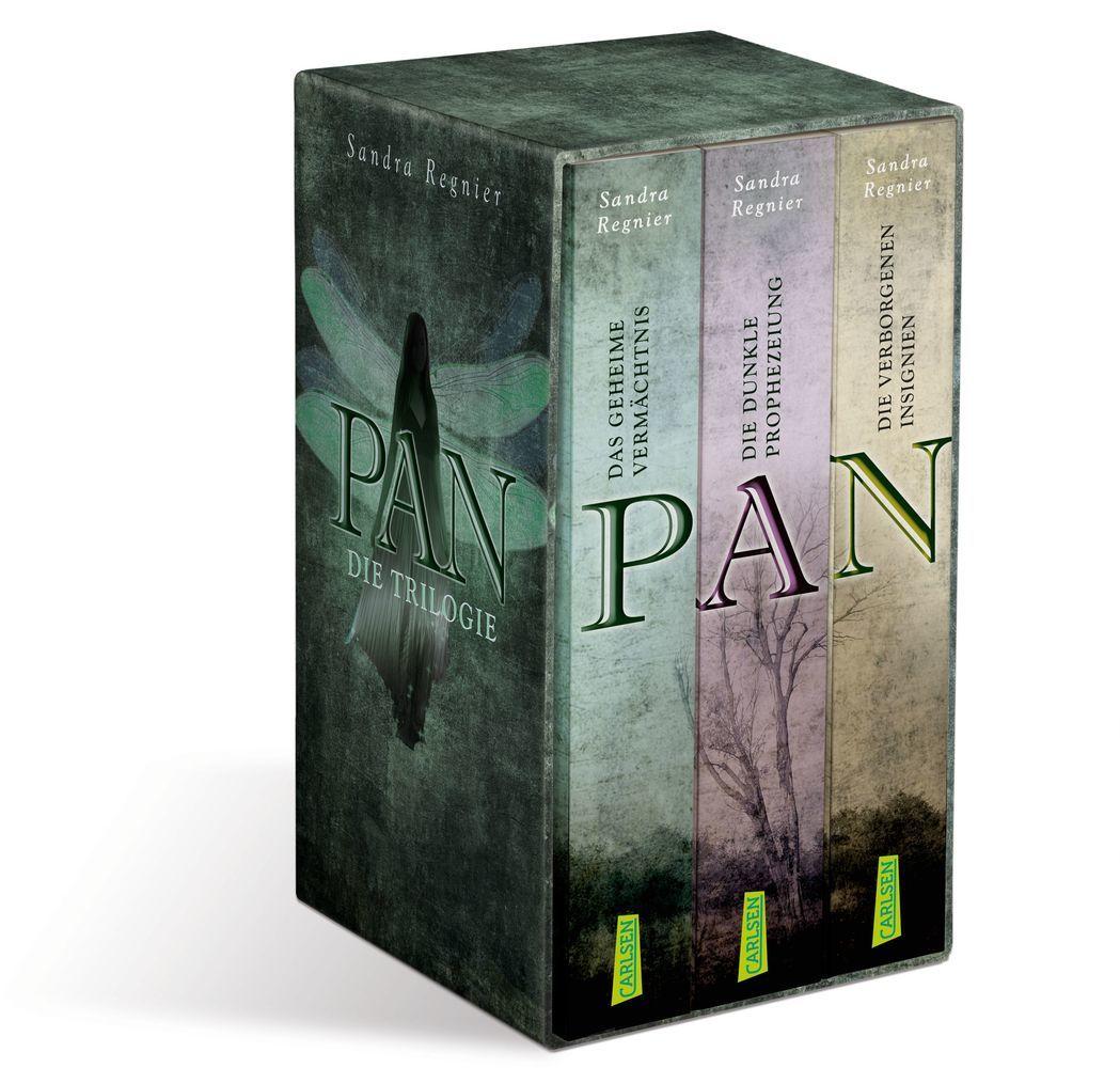 Die Pan-Trilogie. Band 1-3 im Schuber als Taschenbuch