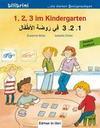 1, 2, 3 im Kindergarten. Kinderbuch Deutsch-Arabisch
