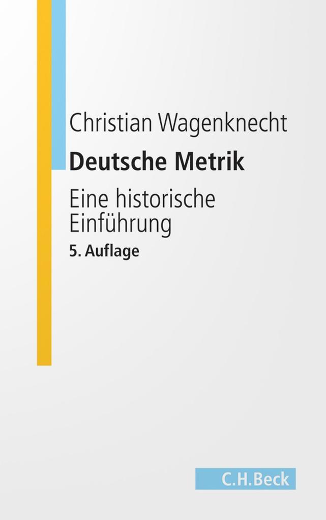 Deutsche Metrik als eBook