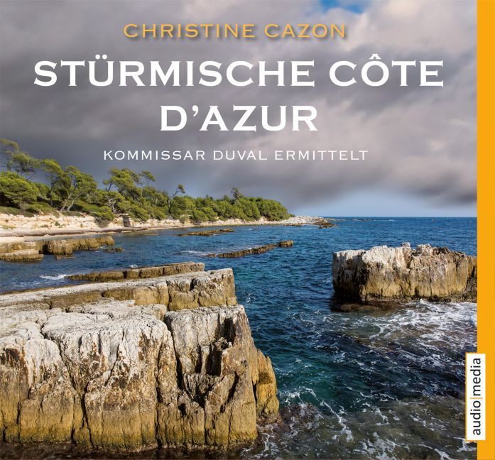 Stürmische Côte d'Azur als Hörbuch