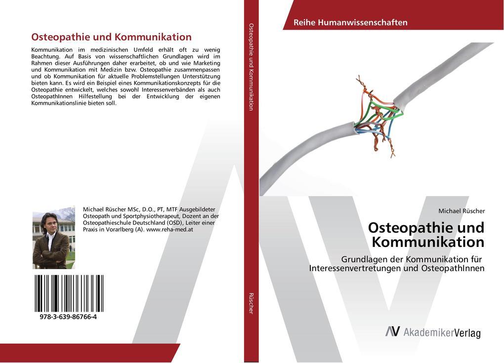 Osteopathie und Kommunikation als Buch von Mich...
