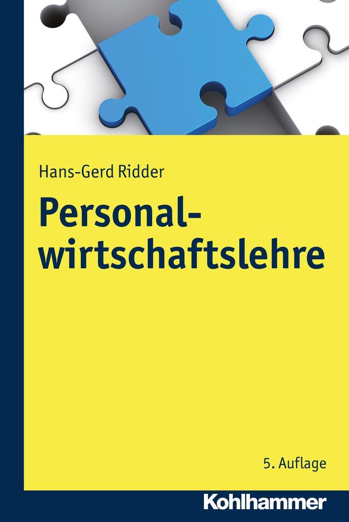 Personalwirtschaftslehre als eBook