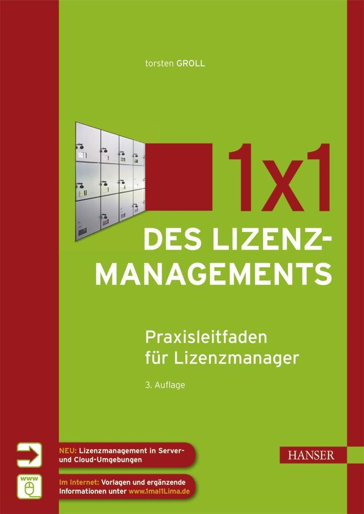 1x1 des Lizenzmanagements als eBook