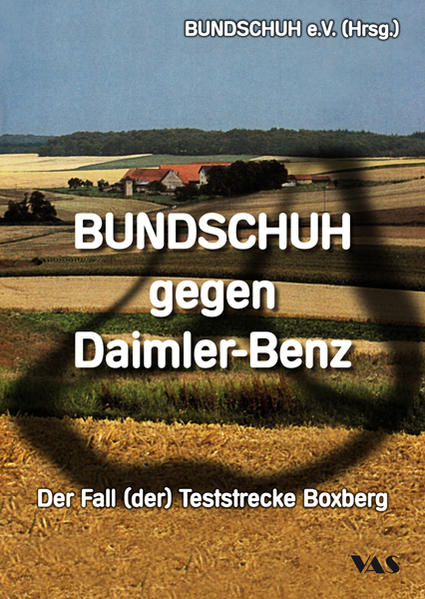 BUNDSCHUH gegen Daimler-Benz als Buch