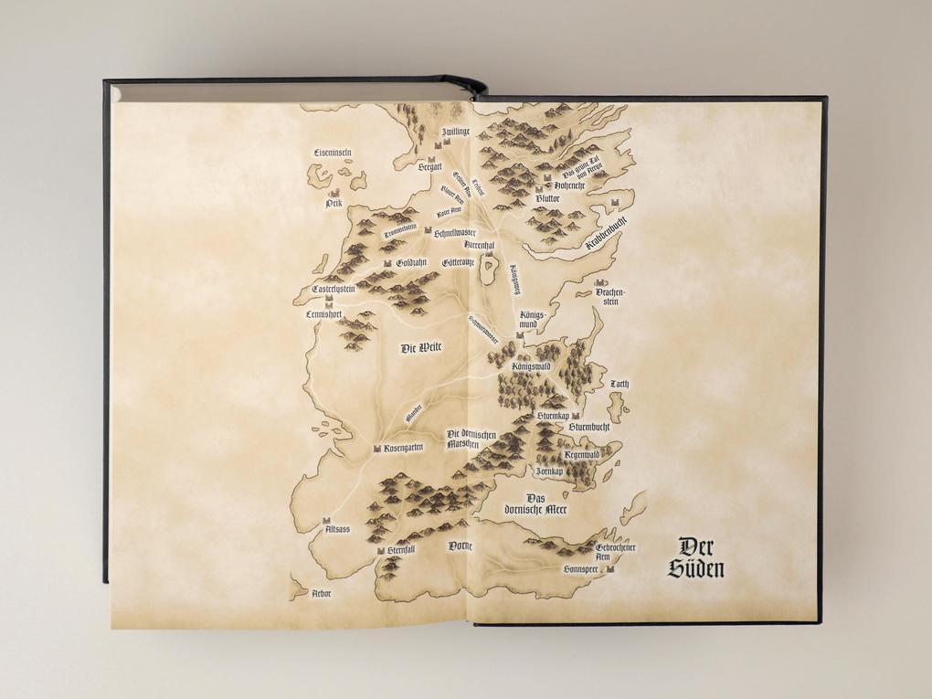 Got Karte Norden.Game Of Thrones 1