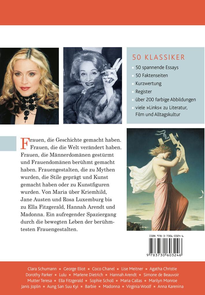 50 Klassiker Frauen Die Berühmtesten Frauen Der Geschichte Buch