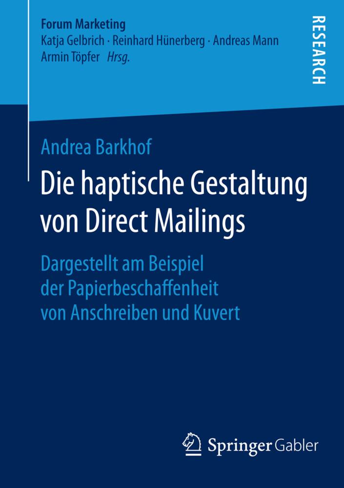 Die haptische Gestaltung von Direct Mailings als Buch