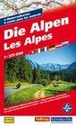 Die Alpen - 6 Motorradkarten