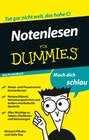 Notenlesen fÃ'r Dummies Das Pocketbuch