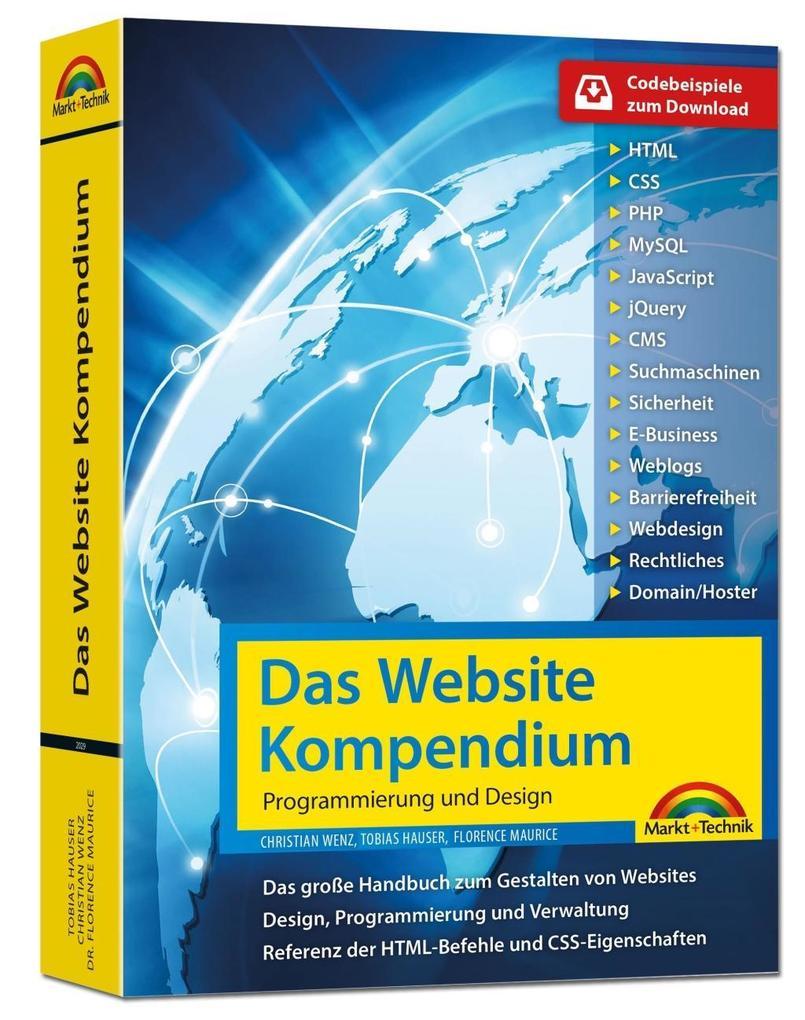 Das Website Handbuch - komplett in Farbe, Progr...