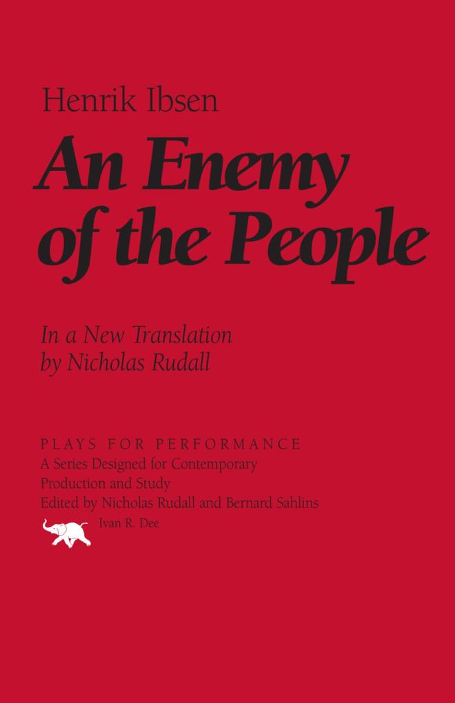 An Enemy of the People als eBook von Henrik Ibsen