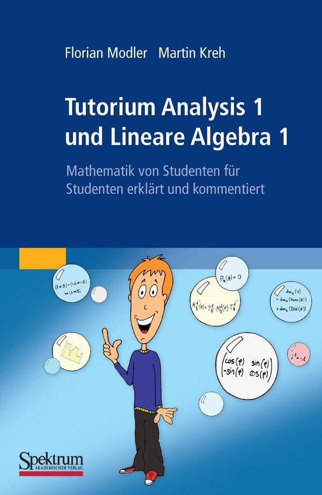 Tutorium Analysis 1 und Lineare Algebra 1 als eBook pdf