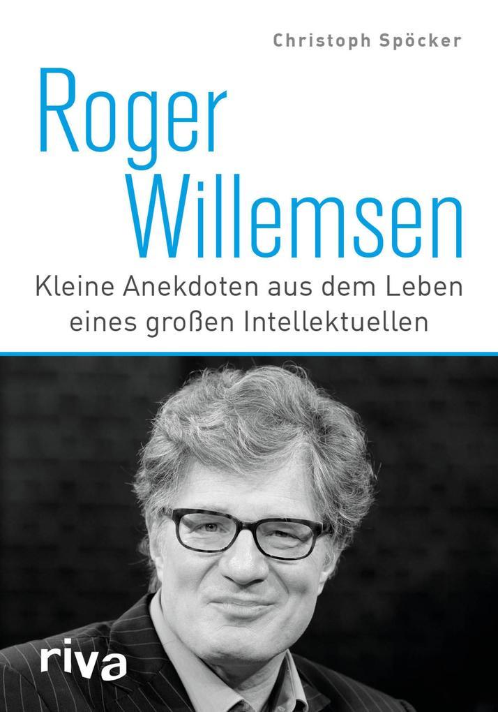 Roger Willemsen als Buch