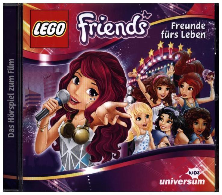 LEGO Friends - Freunde fürs Leben als Hörbuch CD von