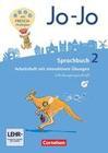 Jo-Jo Sprachbuch - Allgemeine Ausgabe - Neubearbeitung 2016. 2. Schuljahr - Arbeitsheft in Schulausgangsschrift mit CD-ROM