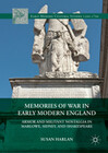 Memories of War in Early Modern England