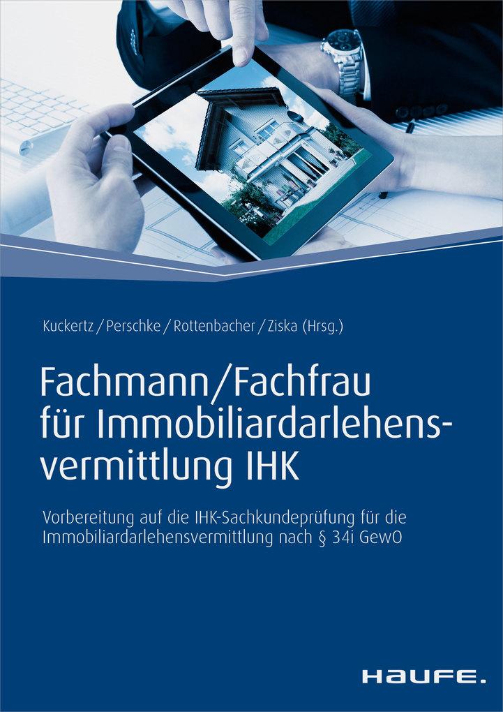 Fachmann/Fachfrau für Immobiliardarlehensvermittlung IHK als eBook