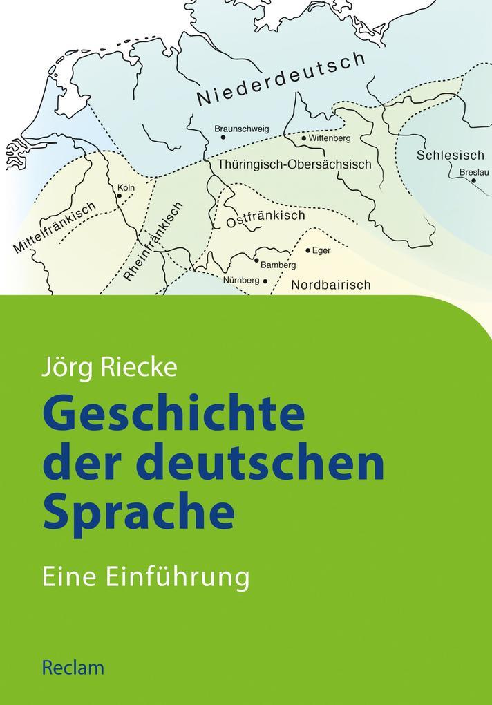 Geschichte der deutschen Sprache als eBook epub