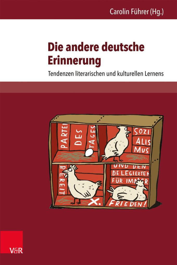 Die andere deutsche Erinnerung als eBook pdf