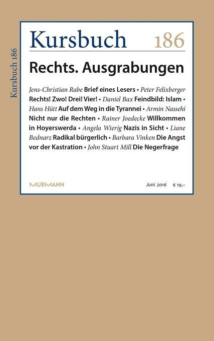 Kursbuch 186 als Buch von