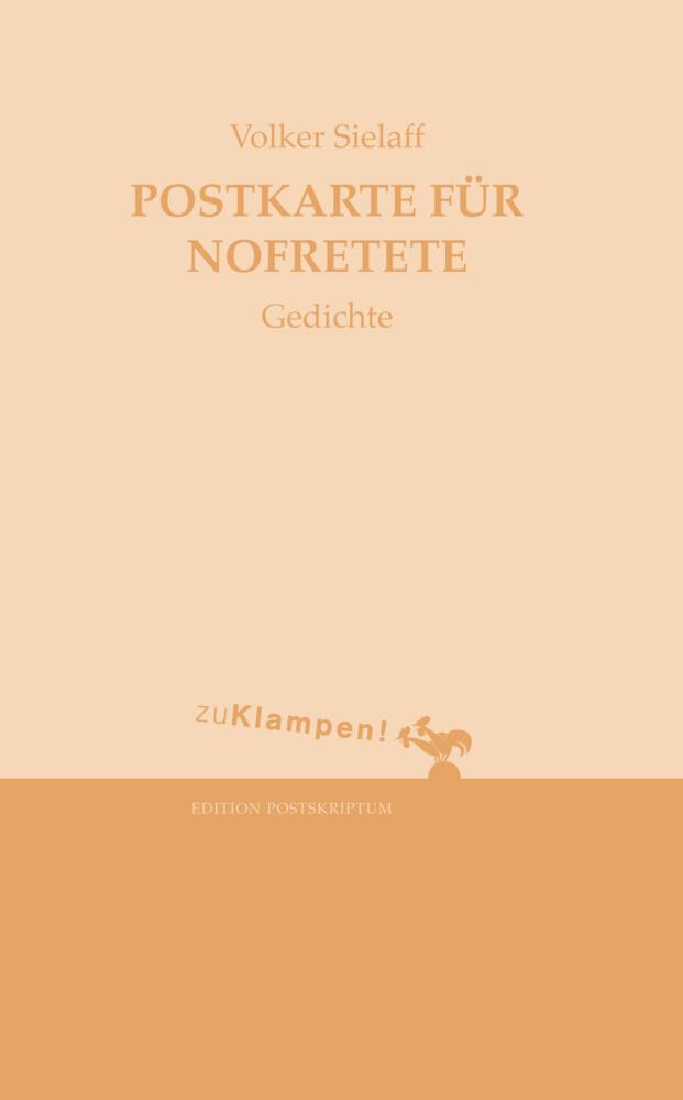 Postkarte für Nofretete als Buch