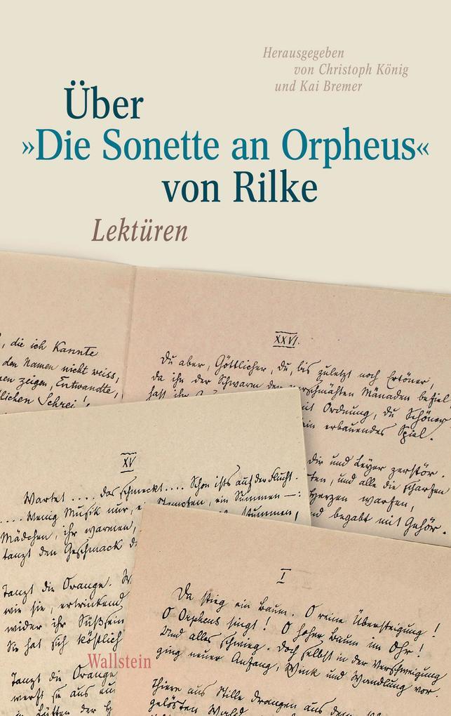 """Über »Die Sonette an Orpheus"""" von Rilke als eBook"""