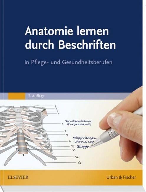 Anatomie lernen durch Beschriften als Buch