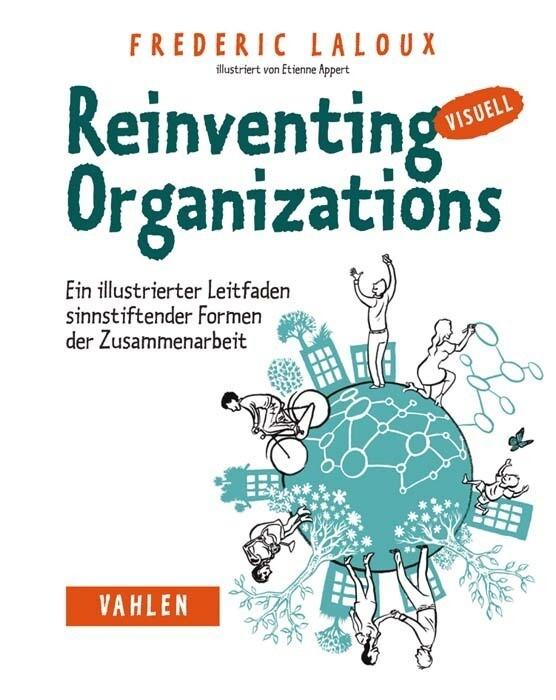 Reinventing Organizations visuell als Buch (kartoniert)