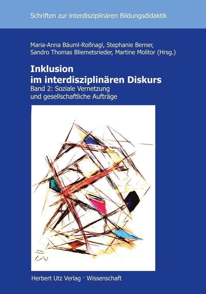 Inklusion im interdisziplinären Diskurs als eBook pdf