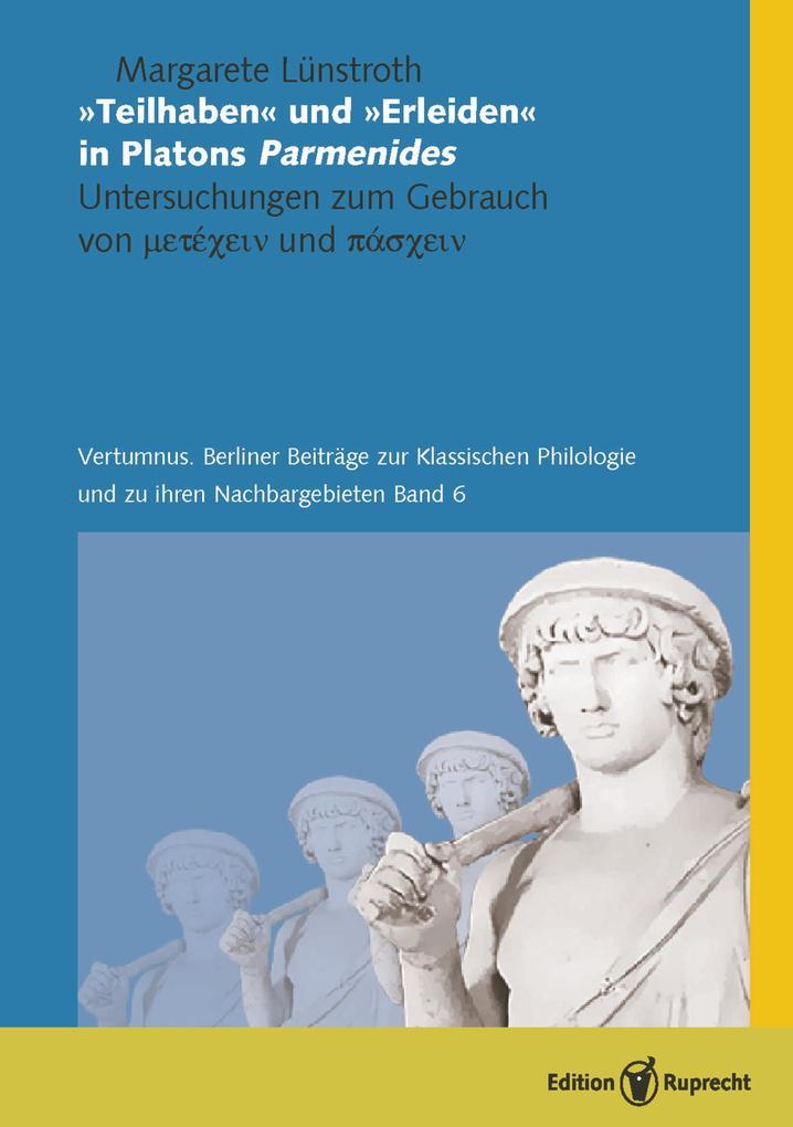 'Teilhaben' und 'Erleiden' in Platons Parmenides als eBook