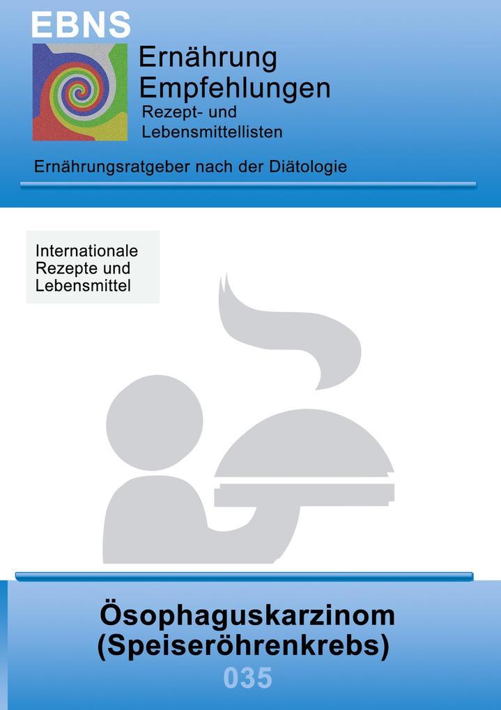 Ernährung bei Speiseröhrenkrebs als Buch (gebunden)