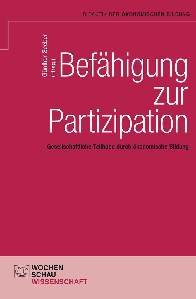 Befähigung zur Partizipation als eBook