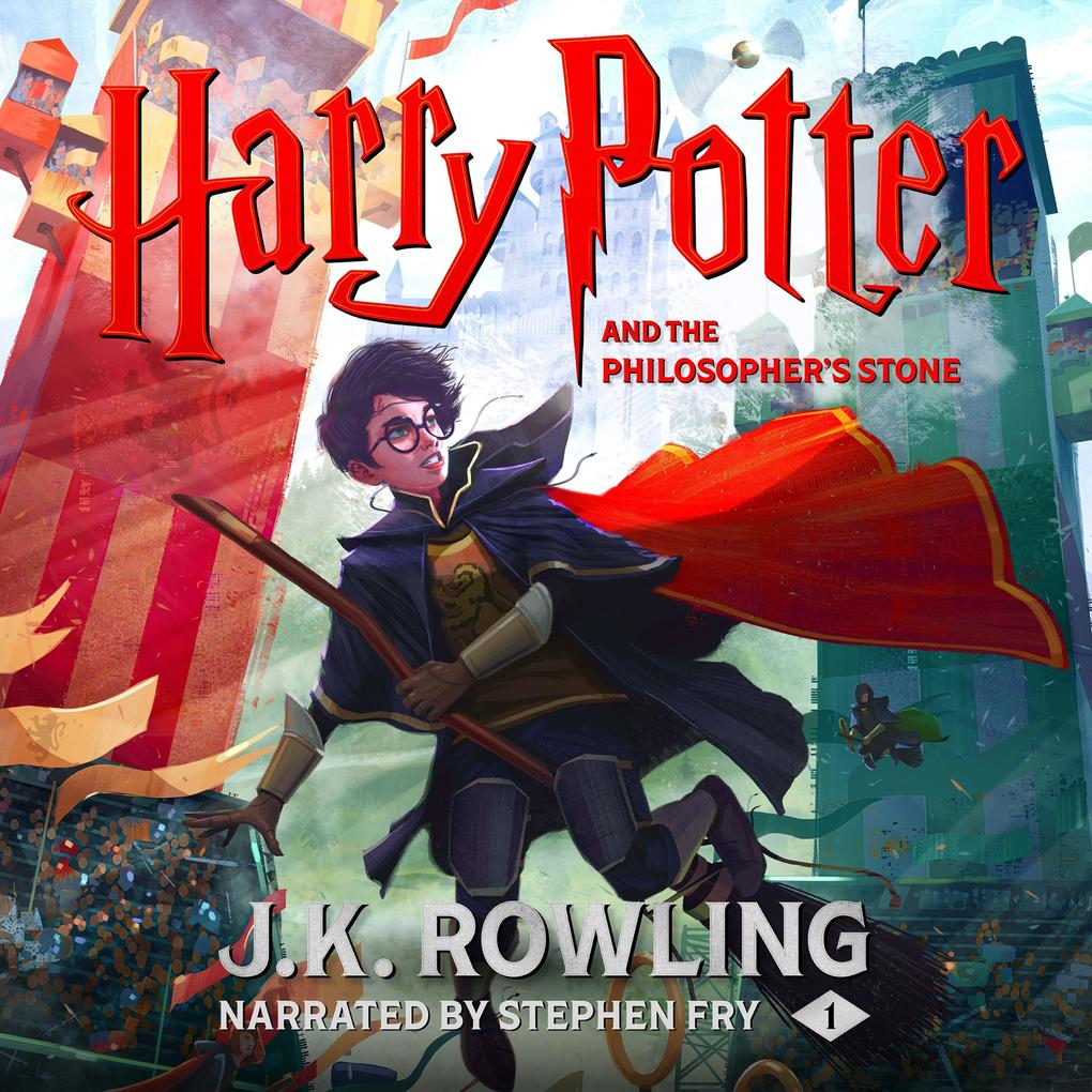 Harry Potter and the Philosopher's Stone als Hörbuch Download