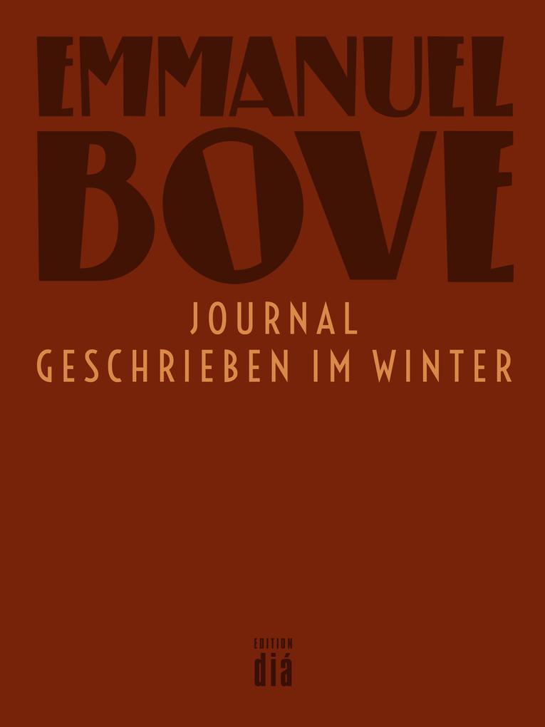 Journal - geschrieben im Winter als eBook