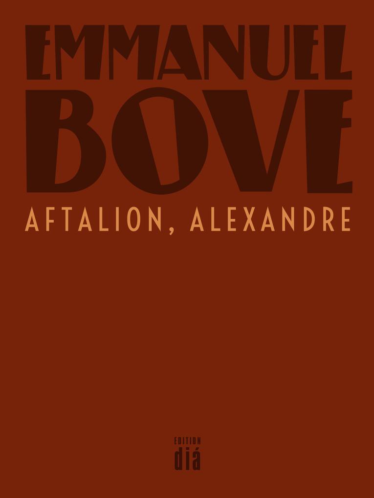 Aftalion, Alexandre als eBook